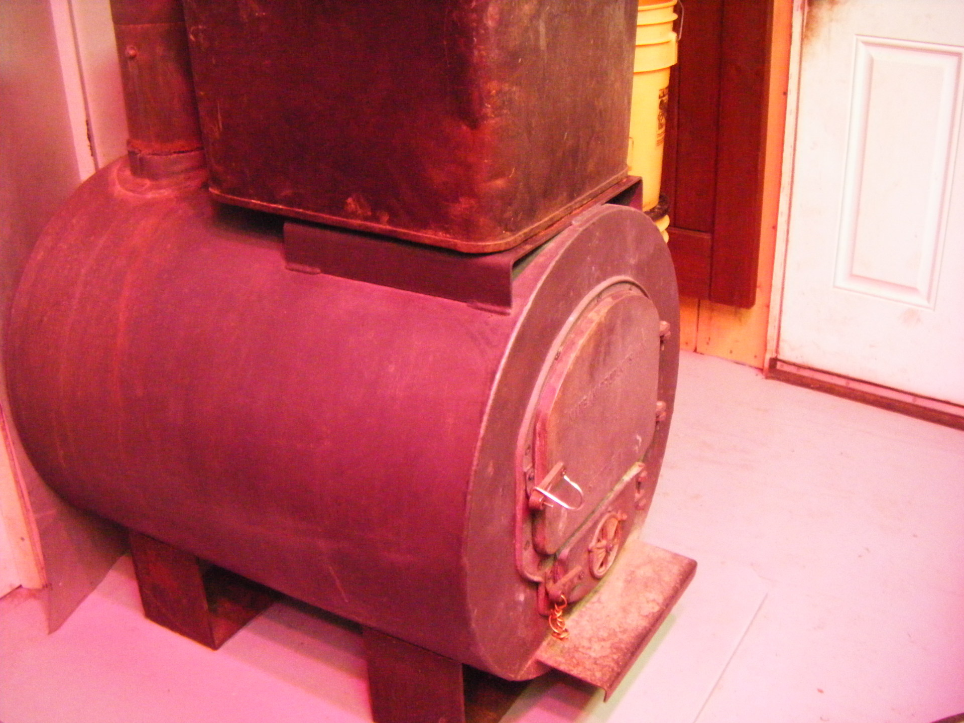 Main wood heater stove