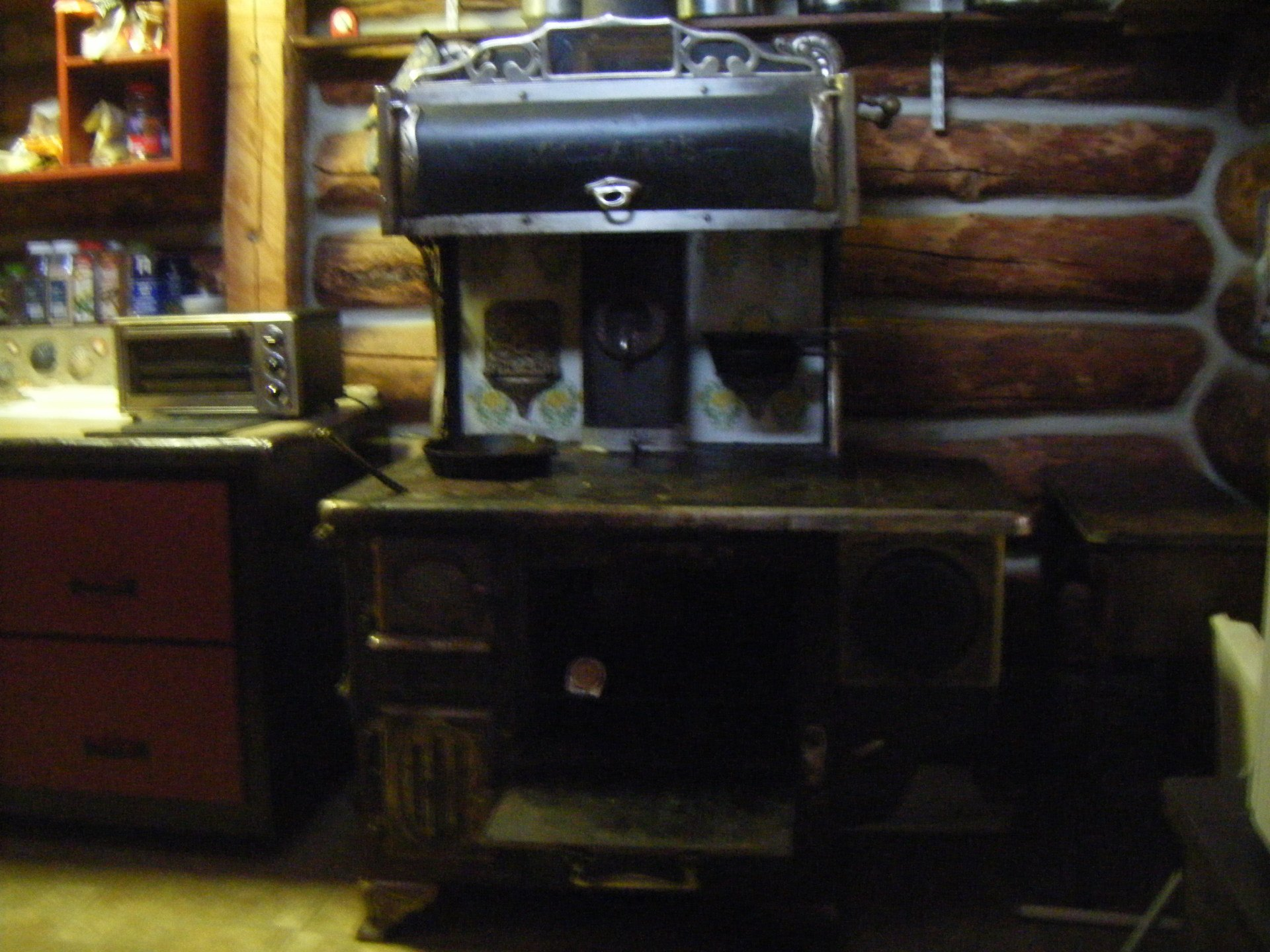 1916 refurbished cookstove
