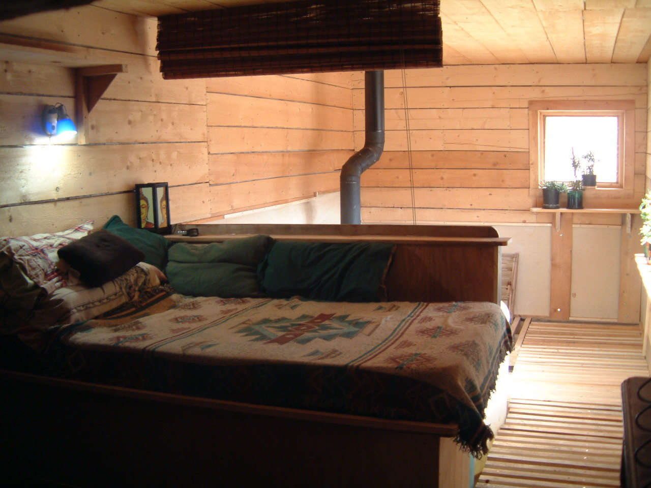 One of 2 new bedrooms